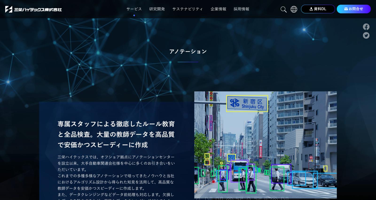 三栄ハイテックス株式会社