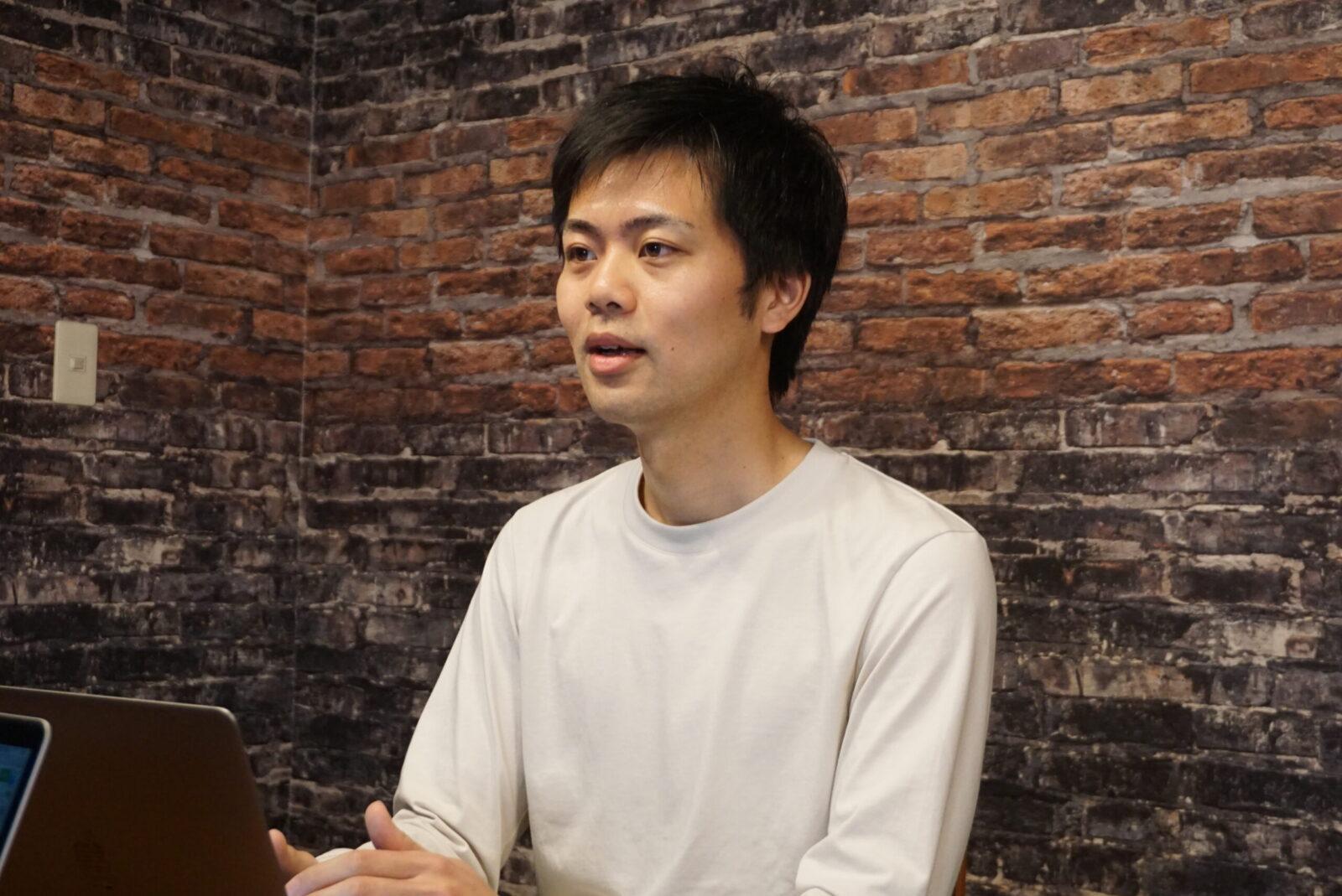 代表取締役社長の八木谷佑太さん