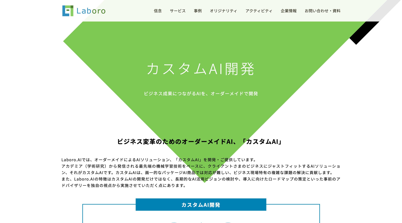 株式会社 Laboro.AI