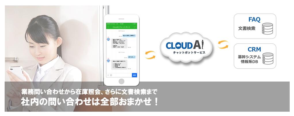 俺のクラウド「CloudAIチャットボット」特長