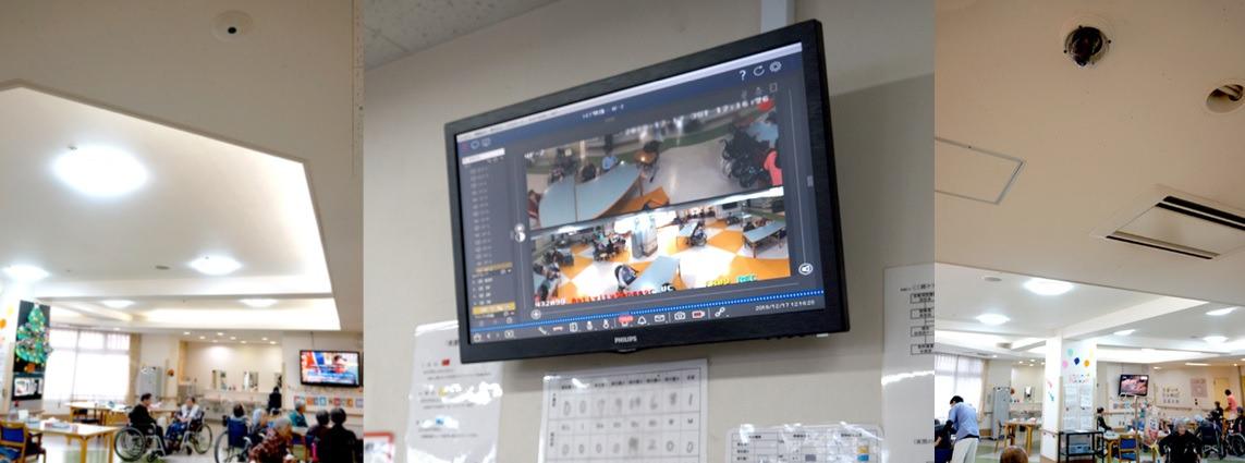 施設内の正確な状況把握と、介護業務の効率化を実現